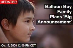 Balloon Boy Family Plans 'Big Announcement'