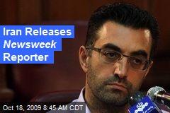 Iran Releases Newsweek Reporter