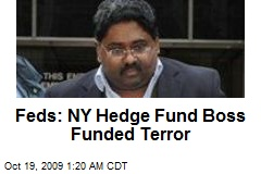 Feds: NY Hedge Fund Boss Funded Terror