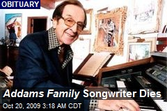 Addams Family Songwriter Dies