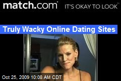Truly Wacky Online Dating Sites