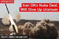 Iran OKs Nuke Deal, Will Give Up Uranium