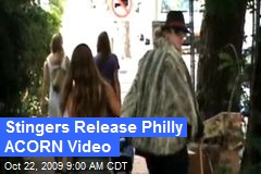 Stingers Release Philly ACORN Video