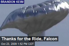Thanks for the Ride, Falcon