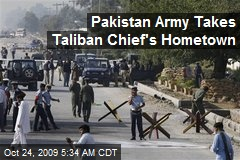Pakistan Army Takes Taliban Chief's Hometown