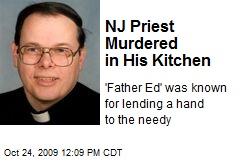 NJ Priest Murdered in His Kitchen