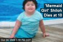 'Mermaid Girl' Shiloh Dies at 10