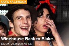 Winehouse Back to Blake