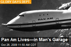 Pan Am Lives—in Man's Garage