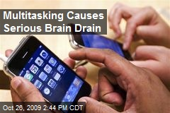 Multitasking Causes Serious Brain Drain