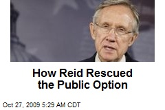 How Reid Rescued the Public Option