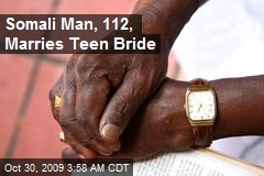 Somali Man, 112, Marries Teen Bride