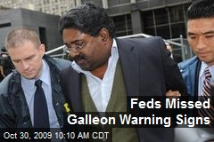 Feds Missed Galleon Warning Signs