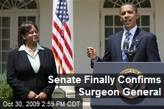 Senate Finally Confirms Surgeon General