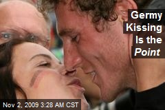 Germy Kissing Is the Point