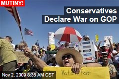 Conservatives Declare War on GOP