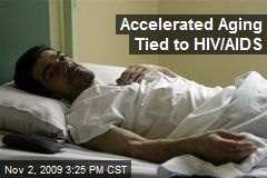 Accelerated Aging Tied to HIV/AIDS