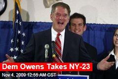 Dem Owens Takes NY-23