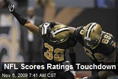 NFL Scores Ratings Touchdown