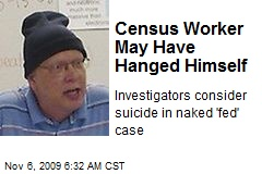 Census Worker May Have Hanged Himself