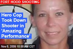 Hero Cop Took Down Shooter in 'Amazing Performance'