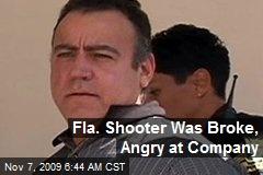 Fla. Shooter Was Broke, Angry at Company