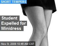 Student Expelled for Minidress
