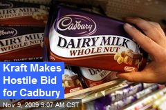 Kraft Makes Hostile Bid for Cadbury