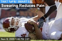Swearing Reduces Pain