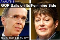 GOP Bails on Its Feminine Side