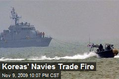 Koreas' Navies Trade Fire
