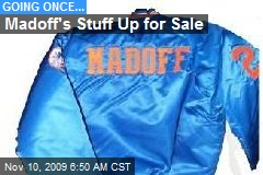 Madoff's Stuff Up for Sale