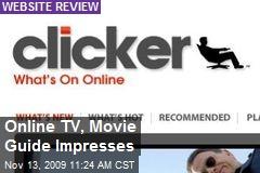 Online TV, Movie Guide Impresses