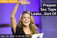 Prejean Sex Tape Leaks...Sort Of