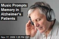 Music Prompts Memory in Alzheimer's Patients