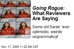 Going Rogue: What Reviewers Are Saying