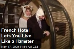 French Hotel Lets You Live Like a Hamster