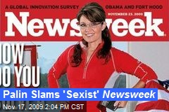 Palin Slams 'Sexist' Newsweek