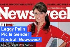 Leggy Palin Pic Is Gender Neutral: Newsweek