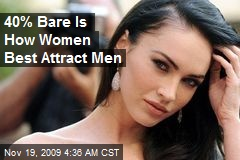40% Bare Is How Women Best Attract Men