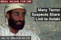 Many Terror Suspects Share Link to Awlaki