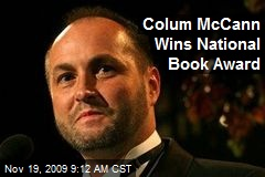 Colum McCann Wins National Book Award