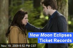 New Moon Eclipses Ticket Records