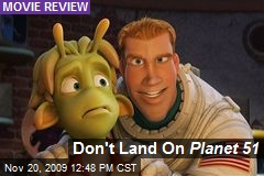 Don't Land On Planet 51