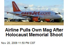 Airline Pulls Own Mag After Holocaust Memorial Shoot