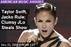 Taylor Swift, Jacko Rule; Clumsy JLo Steals Show