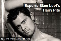 Experts Slam Levi's Hairy Pits