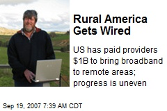 Rural America Gets Wired