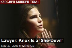 Lawyer: Knox Is a 'She-Devil'