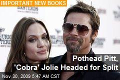 Pothead Pitt, 'Cobra' Jolie Headed for Split